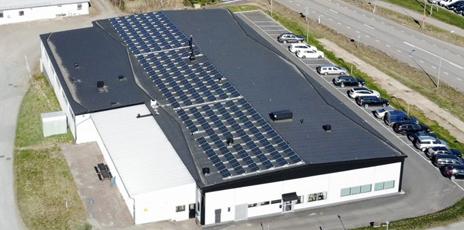 Nokalux solceller frastigheter Nordic Solar