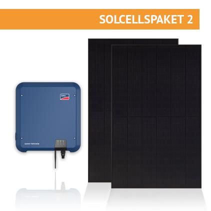 Solcellspaket Nordic Solar